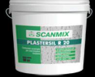 Силиконовая короед SCANMIX  PLASTERSIL  R, зерно 2,5мм, 25 кг.