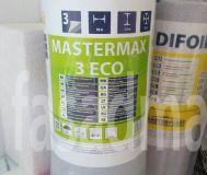 Супердиффузионная мембрана Mastermax 3 ECO(Ветробарьер), 75м.кв.