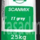 Шпатлевка фасадная старт Scanmix ТТ (серая) (с фиброволокном), 25 кг.