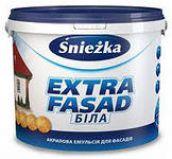 Акриловая фасадная краска Snezka Extrafasad, 14 кг.