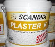 Акриловый барашек Scanmix PLASTER K, 1.5-2мм, 25 кг.